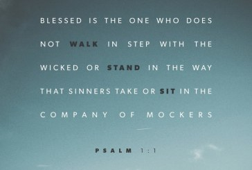 August 17th – Psalm 1:1