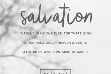 September 17th – Acts 4:12