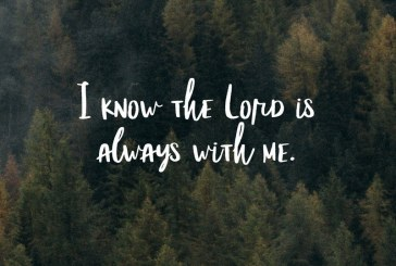 October 7th – Psalm 16:8
