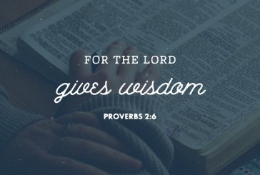 June 7th – Proverbs 2:6