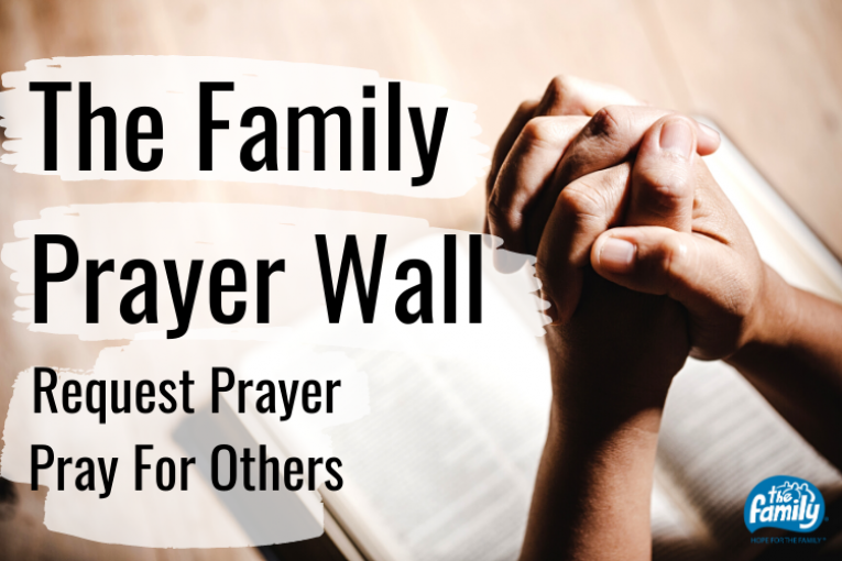 The Family Prayer Wall
